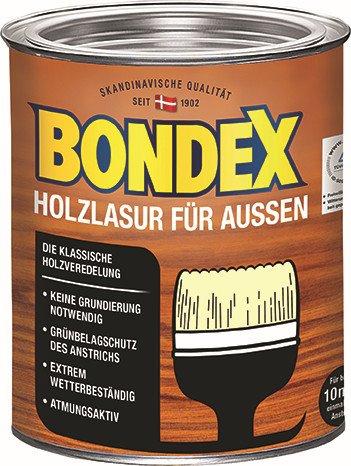 bondex holzlasur f r aussen verschiedene farben 0 75 liter graf bauzentrum. Black Bedroom Furniture Sets. Home Design Ideas